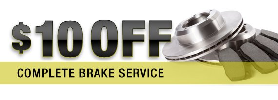 Brake Repair Coupon in Largo, FL